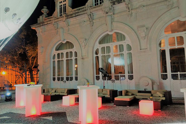 Pestana Palace Event Dekoration