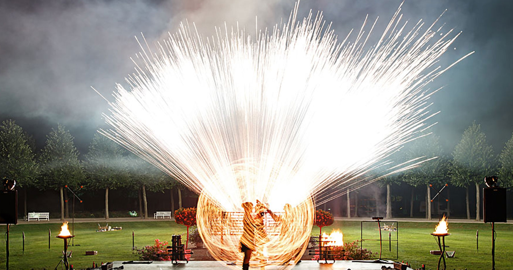 Firmenevent-Feuershow